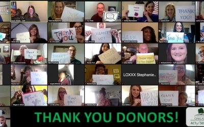 Class Photo With Donor Thank You 400x250